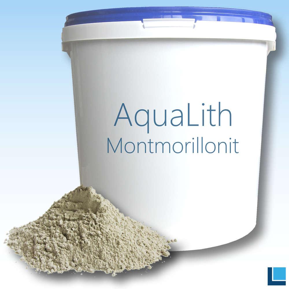 AquaLith Montmorillonite clay minerals 10kg bucket